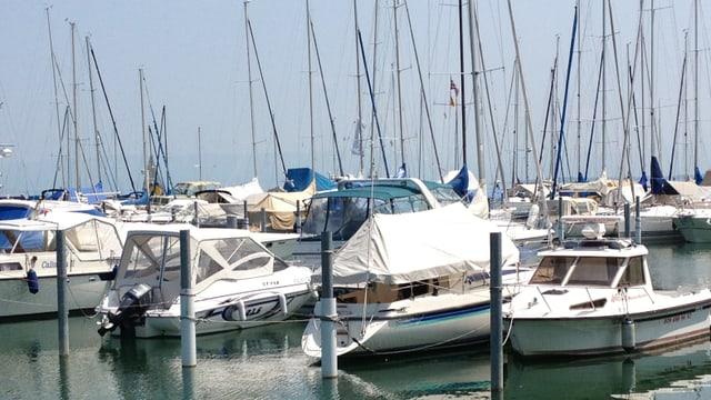An Bord von Motorbooten und Segelschiffen wird viel Alkohol konsumiert. Die Meinungen der Süsswasser-Kapitänen am Hafen Arbon gehen weit auseinander.