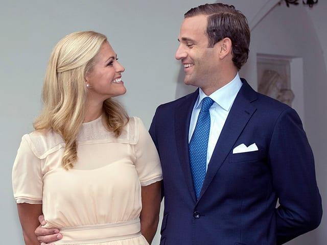 Pinzessin Madeleine und Jonas Bergström
