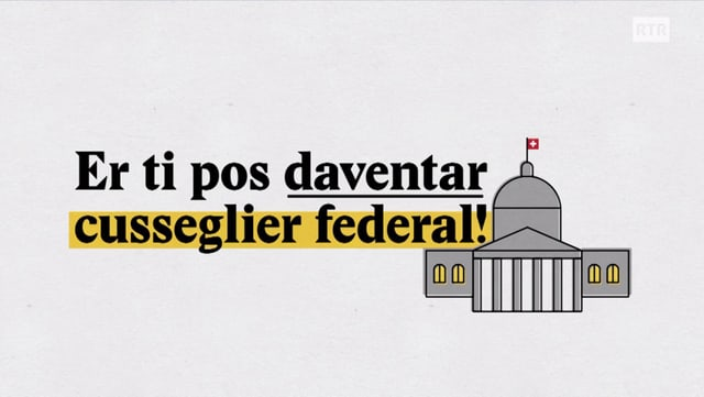 Laschar ir video «Explainer: Er ti pos daventar cusseglier federal!»