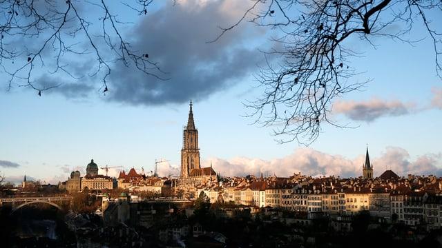 Sicht auf Berner Münster und Altstadt