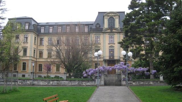 Das Justizgebäude in Sitten, Sitz des Walliser Kantonsgerichts.