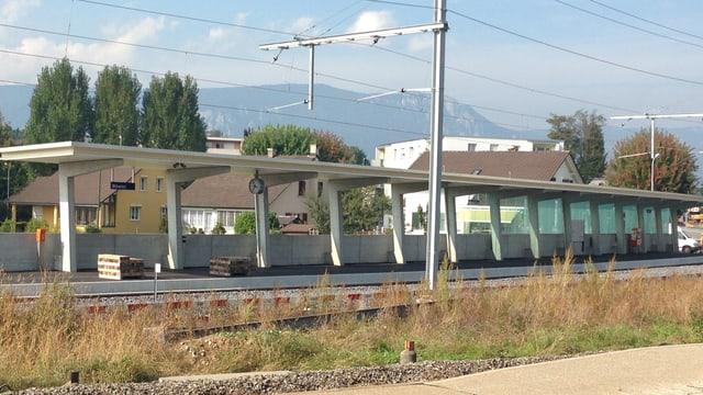 Der neue RBS-Bahnhof in Biberist nahm am Montagmorgen den Betrieb auf.