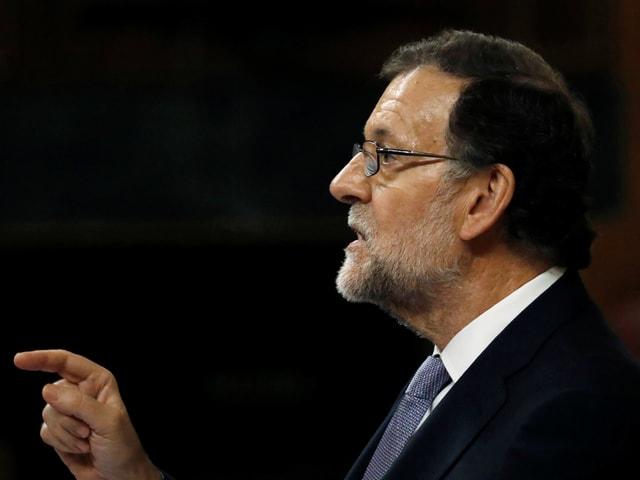 Rajoy in einer Archivaufnahme