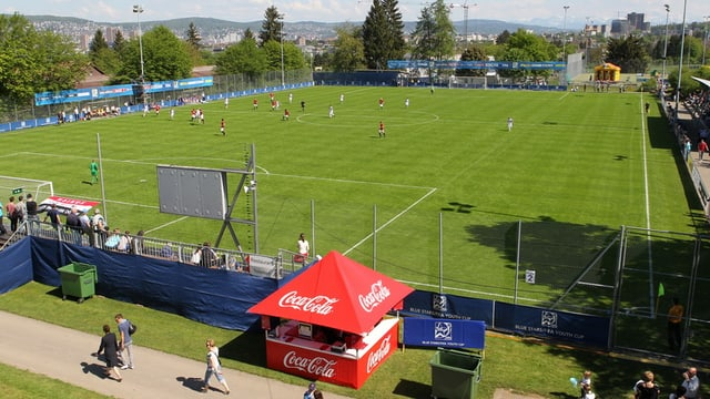 14'300 Zuschauer strömten in den Sportplatz Buchlern.