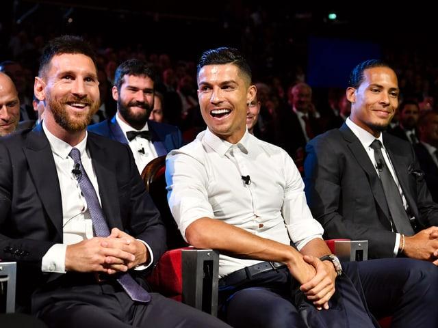 Messi, Ronaldo und van Dijk
