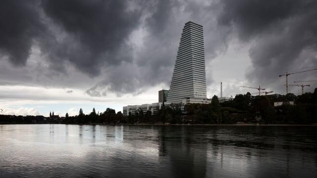 Roche Tower a Basilea