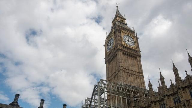vista sin il Big Ben, il clutger marcant da Londra