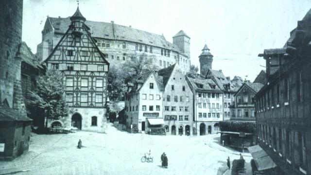 Nürnberg vor dem Krieg.