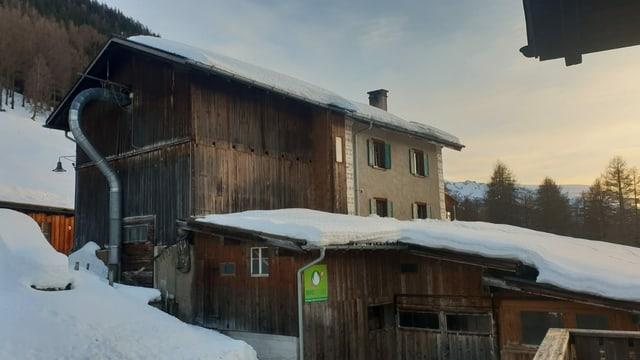Novs lieus da pernottar sin la ruta dal Parc Ela Trek: Valplana/Jenisberg.