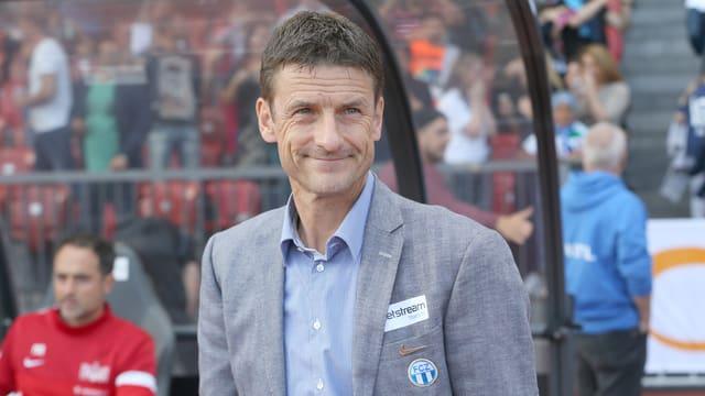 FCZ-Trainer Urs Meier darf mit dem Saisonstart seiner Mannschaft zufrieden sein.