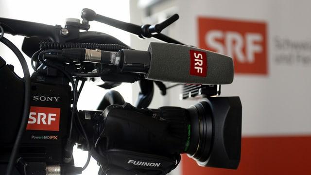 Ina camera da film digitala da la SRF: