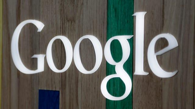 Il logo da Google en alv.