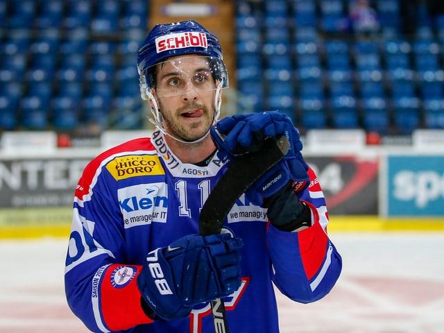 Luca Cunti spielt seit 2017 beim HC Lugano.