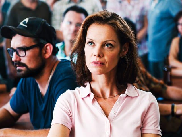 Mona Petri als Karin Geiser im «Bestatter».