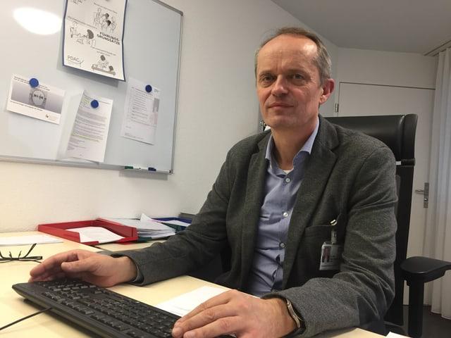Chefarzt Peter Wermuth