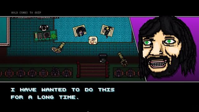 Eine Spielszene des Games «Hotline Miami 2: Wrong Number».