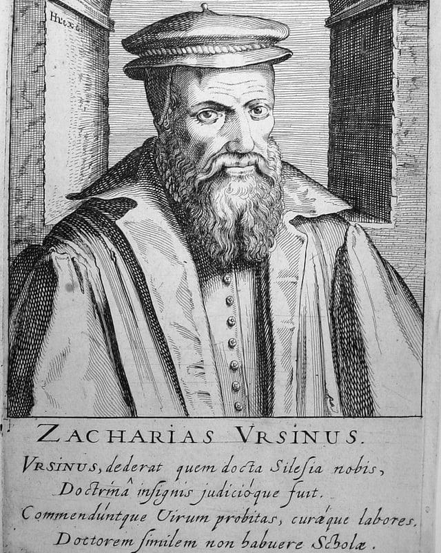 Portrait von Zacharias Ursinus.