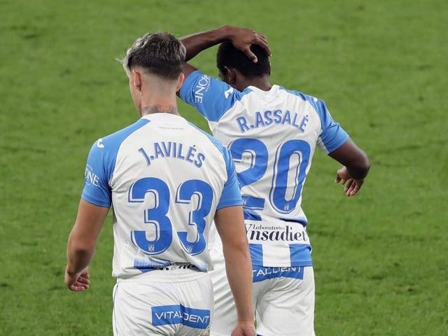 Assalé steigt mit Leganes ab.