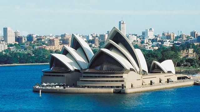 Video «Sydneys Opernhaus: Wahrzeichen eines unbekannten Stararchitekten» abspielen