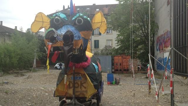 Der Bauplatz in der Berner Lorraine: Hier muss die Stadt Bern in einem Neubau marktübliche Mieten verlangen.