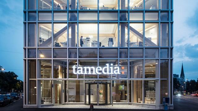 Das Tamedia-Verlagshaus in Zürich.