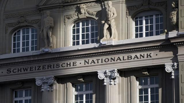 Il bajetg da la Banca naziunala svizra.