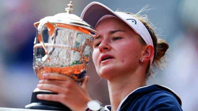 Überraschung perfekt: Krejcikova gewinnt die French Open