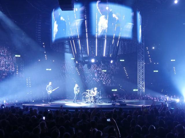 Die 360-Grad-Bühne von Muse.