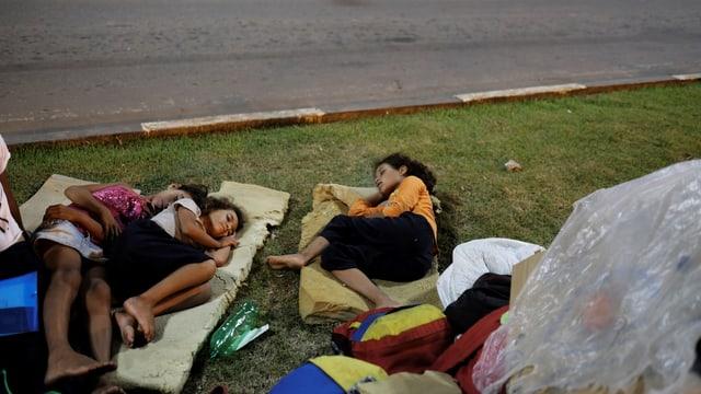 Geflüchtete Venezolanerinnen in Brasilien