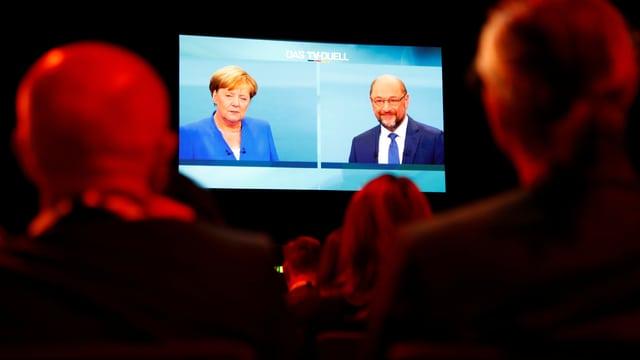 TV-Duell in Deutschland