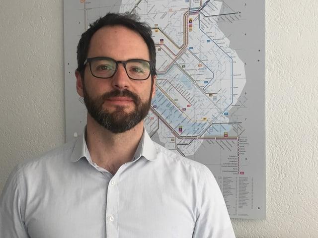 Stefan Kaufmann ist Mediensprecher vom ZVV