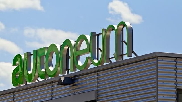 Hauptsitz mit Logo von Autoneum in Winterthur