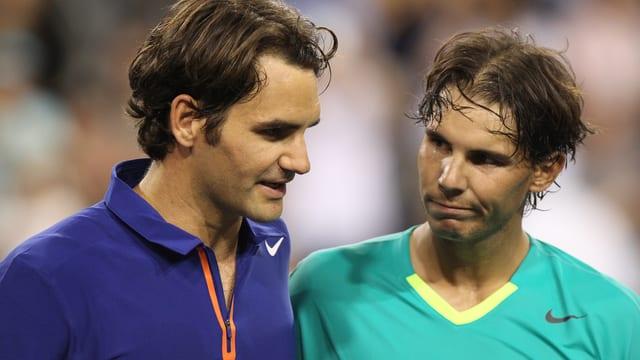 Gegen keinen Gegner hat Roger Federer öfter verloren als gegen Rafael Nadal.