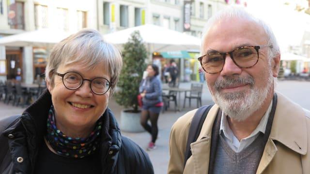Porträt vom Ehepaar TRemp