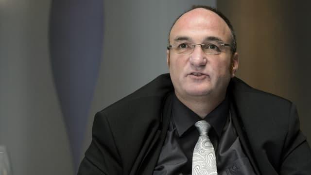 Der SVP-Politiker Jean-Charles Legrix .