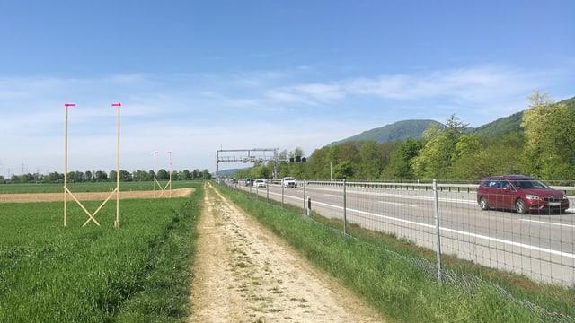 Autobahn und Bauprofile
