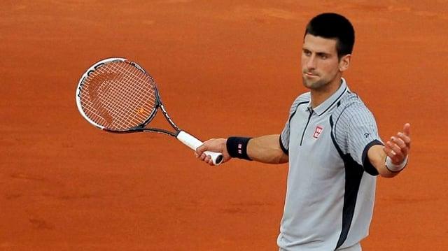 Novak Djokovic musste sich nach hartem Kampf geschlagen geben.
