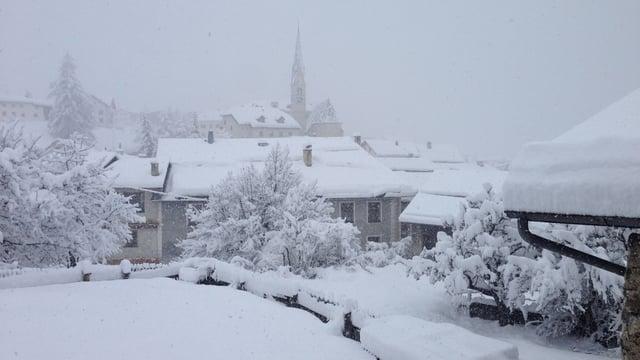 Fotografia da Santa Maria en Val Müstair.