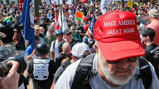 Demo in Charlottesville