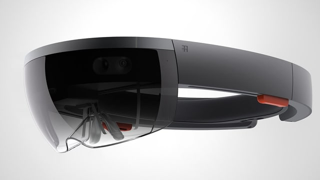 Bild der HoloLens-Brille