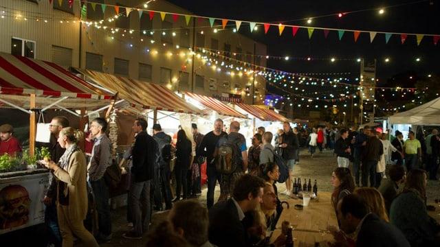 Das Streetfood-Festival