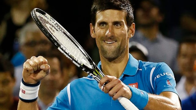 Novak Djokovic n'è er vinavant betg da franar.