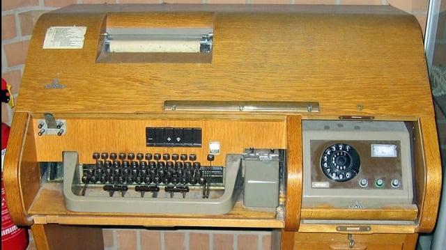 Ein Telex.