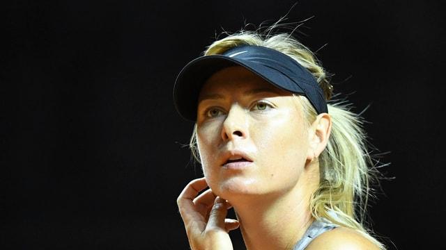 purtret da la giugadra tennis Maria Scharapowa
