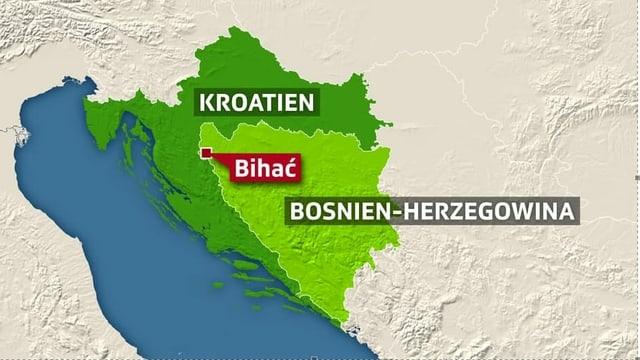 Das verelendete Lager Vucjak lag nahe an der Grenze zu Kroatien.