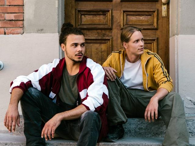 Moritz (Besnik Bala) und Noah (Saladin Dellers)