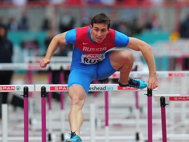 Sergej Schubenkow (110 m Hürden)