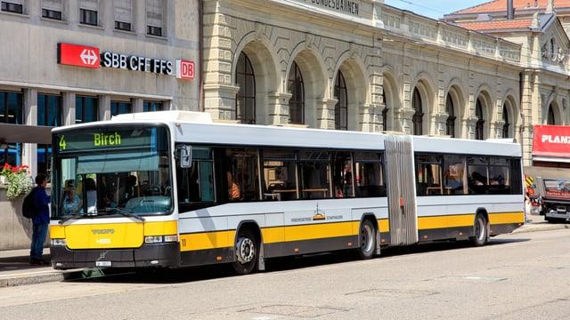 Bus der Schaffhauser Verkehrsbetriebe