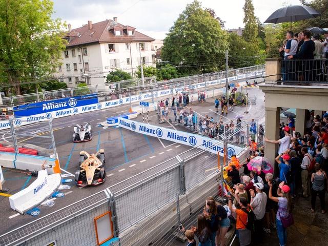 Bilder der Strecke in Bern.