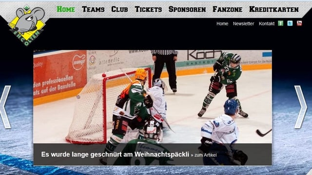 Screenshot EHC Olten